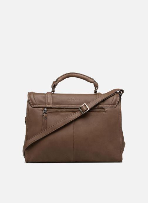 Handtaschen Sabrina Pauline braun ansicht von vorne