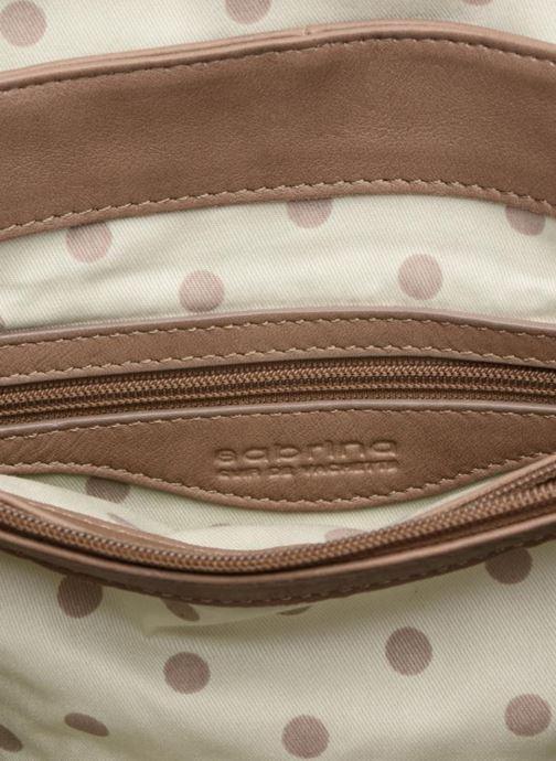 Handtaschen Sabrina Pauline braun ansicht von hinten