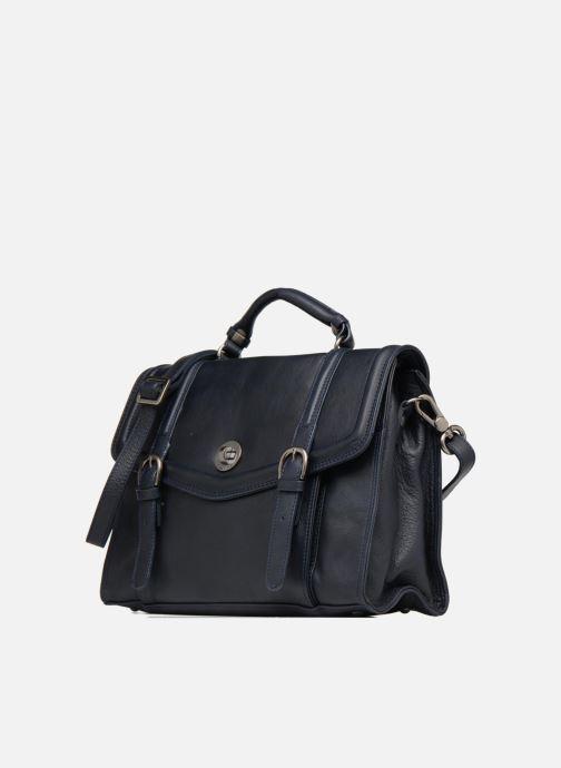 Handtaschen Sabrina Pauline blau schuhe getragen