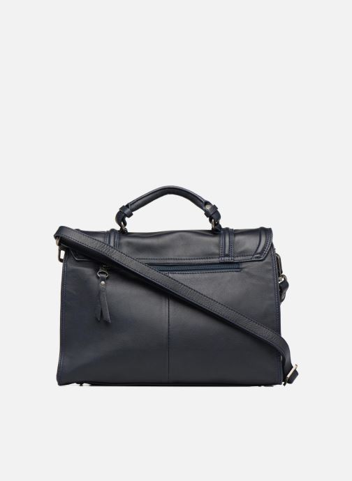 Handtaschen Sabrina Pauline blau ansicht von vorne