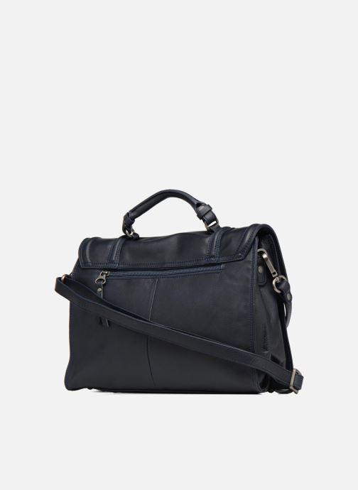 Handtaschen Sabrina Pauline blau ansicht von rechts