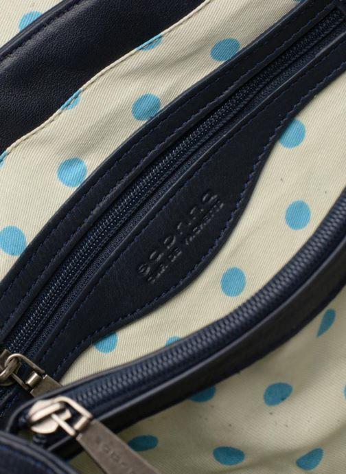 Handtaschen Sabrina Pauline blau ansicht von hinten