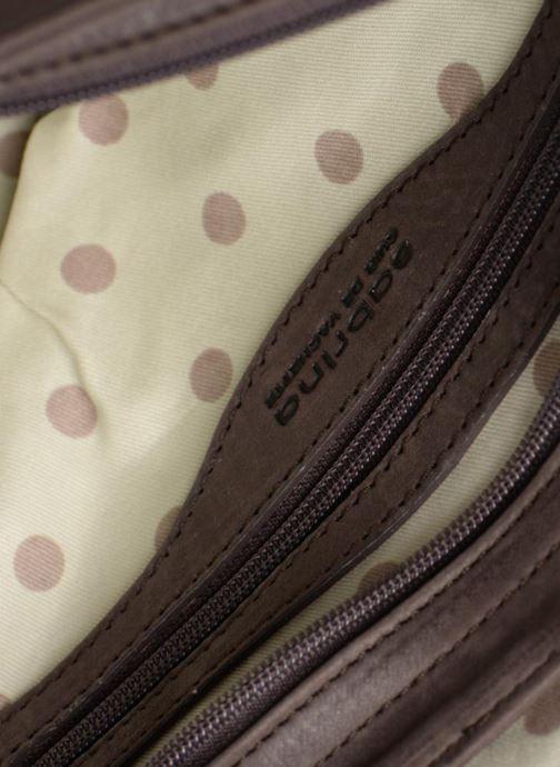 Handtaschen Sabrina Louison braun ansicht von hinten