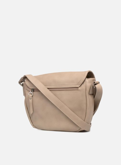Handtaschen Sabrina Louison beige ansicht von rechts