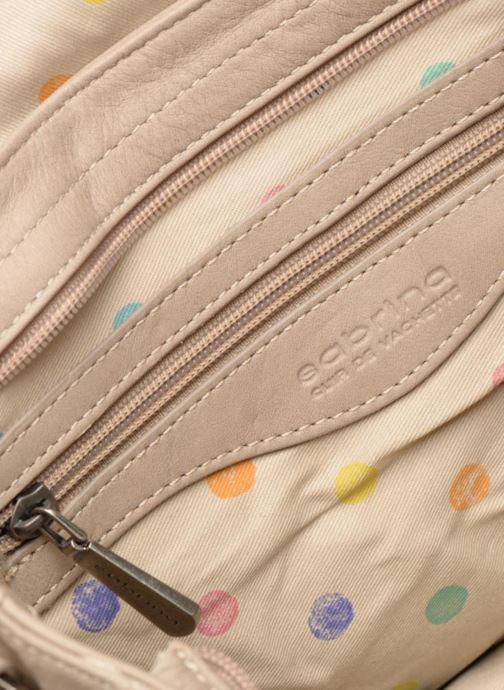 Handtaschen Sabrina Louison beige ansicht von hinten