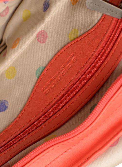 Handtaschen Sabrina Louison rot ansicht von hinten