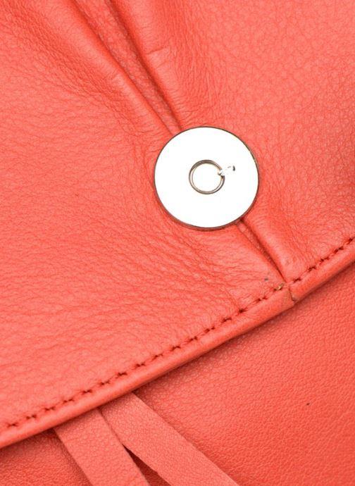 Handtaschen Sabrina Louison rot ansicht von links