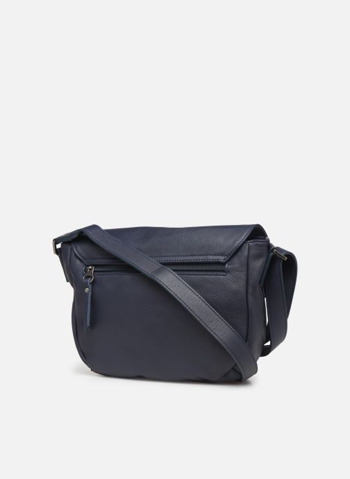 Handbags Sabrina Louison Blue view from the right