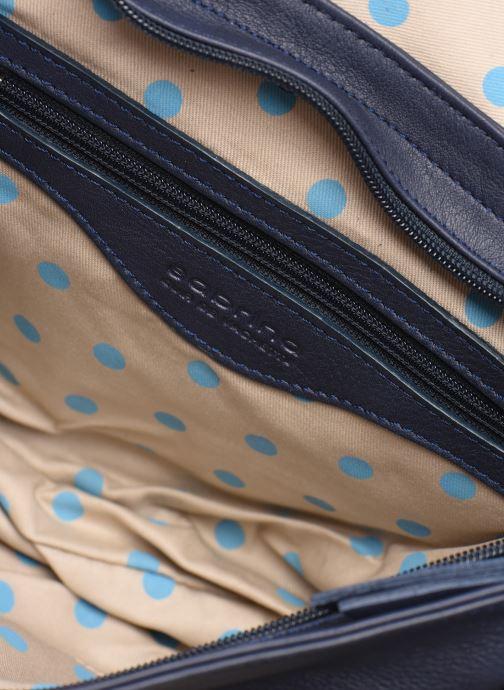 Handbags Sabrina Louison Blue back view