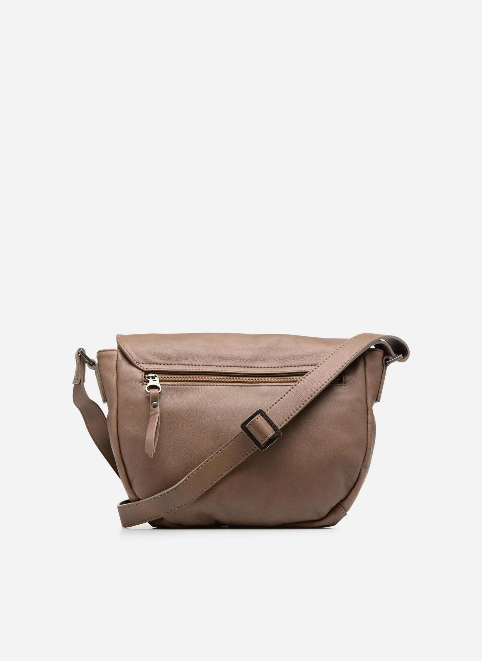 Handbags Sabrina Louison Beige front view