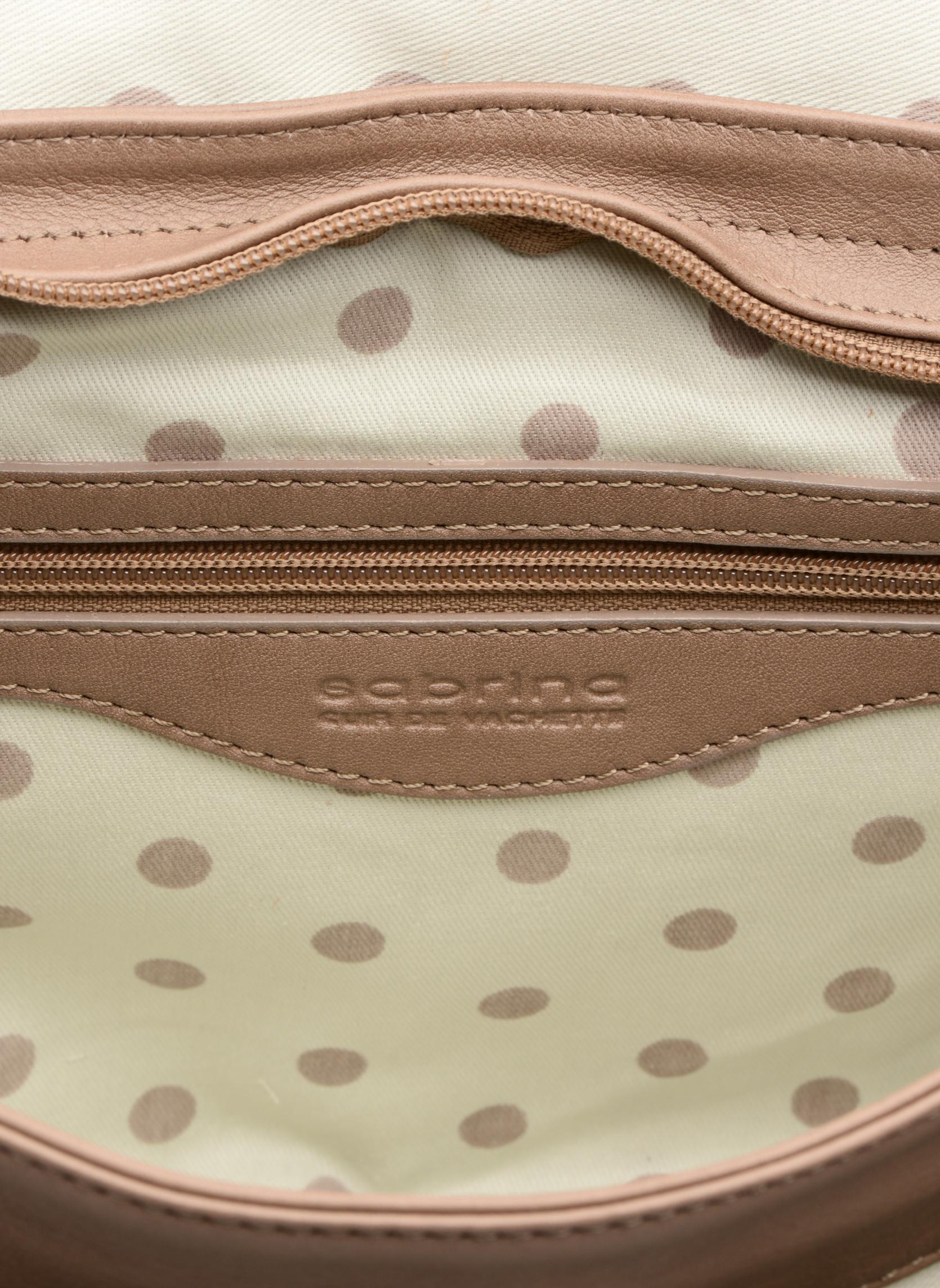Handtassen Sabrina Louison Beige achterkant
