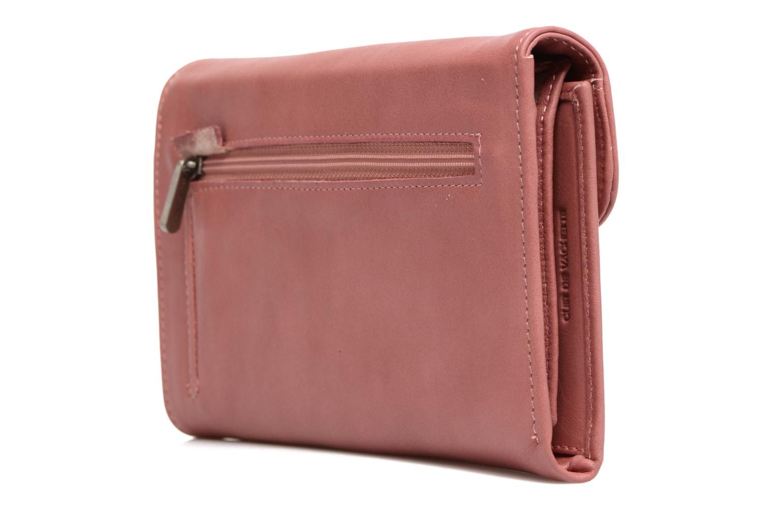 Wallets & cases Sabrina Zoé Pink view from the right