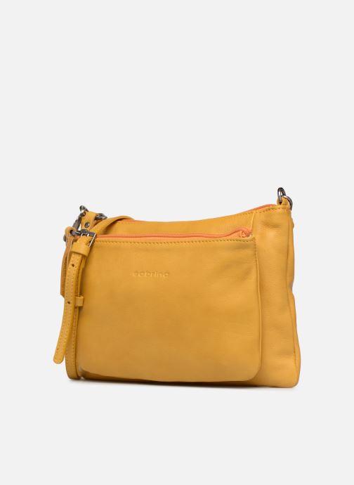 Mini Bags Sabrina Manon gelb schuhe getragen