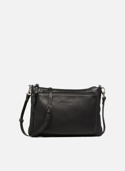 Handtassen Sabrina Manon Zwart detail