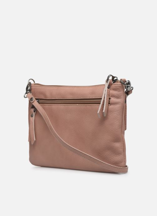 Clutch bags Sabrina Manon Pink view from the right