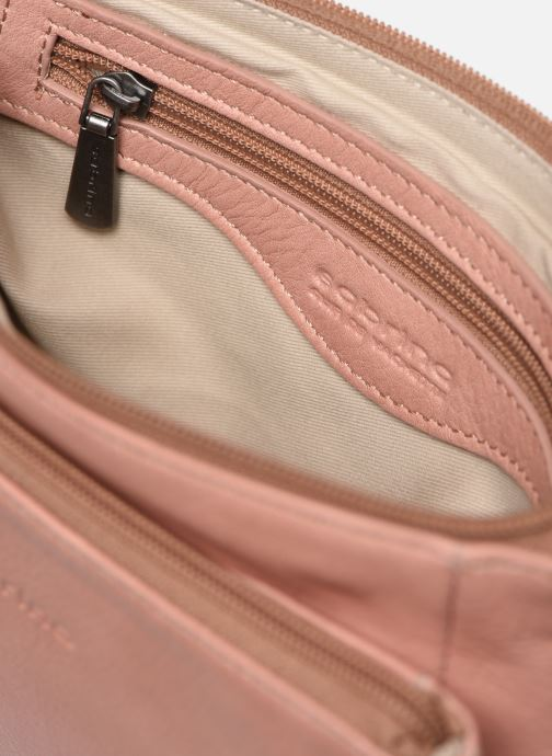 Clutch bags Sabrina Manon Pink back view
