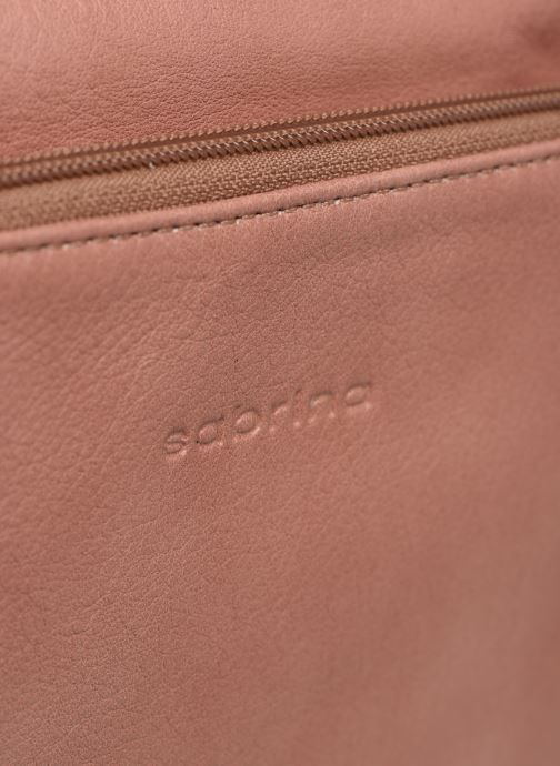 Clutch bags Sabrina Manon Pink view from the left