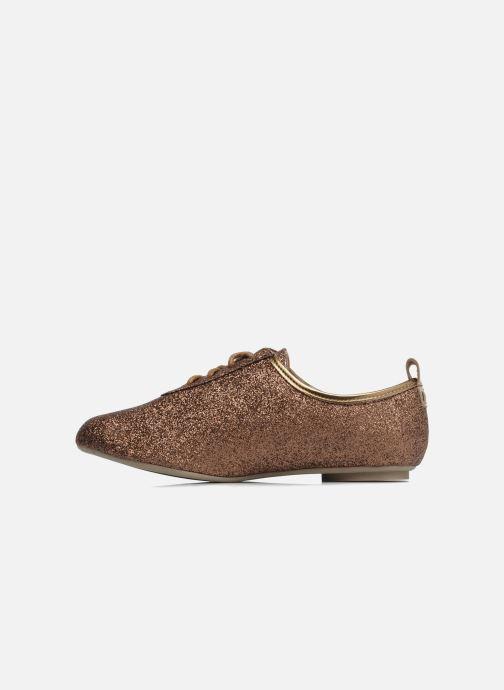 Chaussures à lacets Mellow Yellow Mini Moonwolk Or et bronze vue face