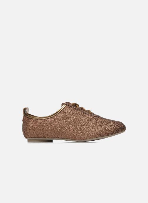 Chaussures à lacets Mellow Yellow Mini Moonwolk Or et bronze vue derrière