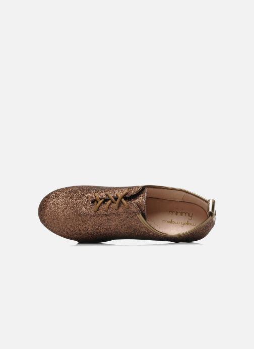Chaussures à lacets Mellow Yellow Mini Moonwolk Or et bronze vue gauche