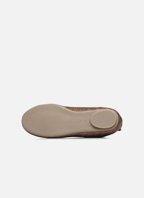 Chaussures à lacets Mellow Yellow Mini Moonwolk Or et bronze vue haut