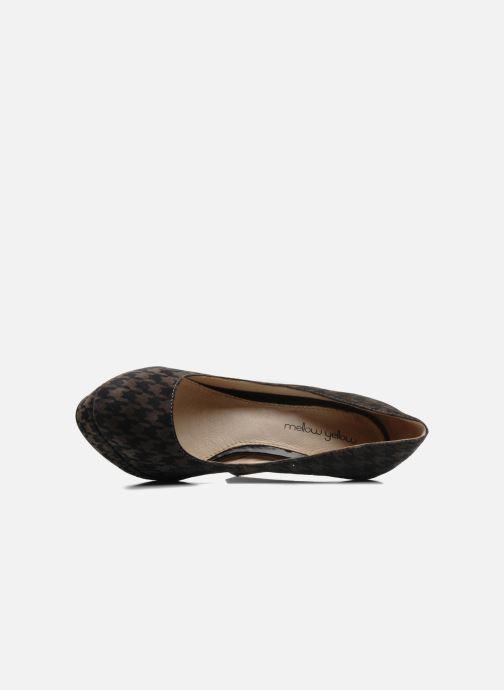 Zapatos de tacón Mellow Yellow Merry Gris vista lateral izquierda