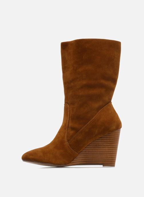 Bottines et boots Mellow Yellow Miki Marron vue face