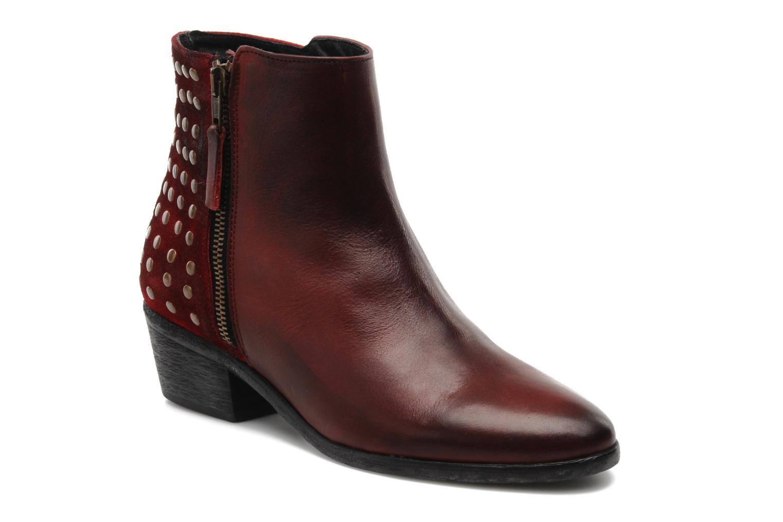 Bottines et boots Pastelle Maureen Bordeaux vue détail/paire