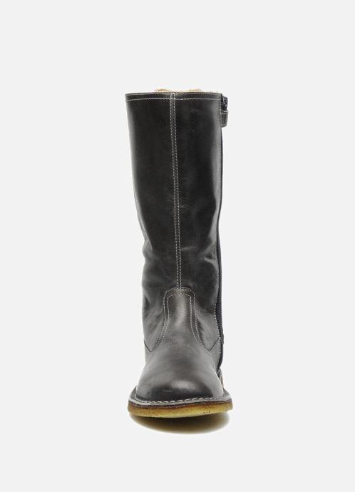 Bottes Naturino Caserta Gris vue portées chaussures