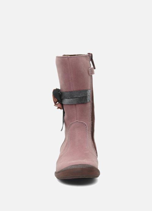 Stiefel Babybotte Arabel rosa schuhe getragen