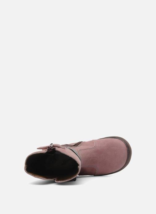 Stiefel Babybotte Arabel rosa ansicht von links