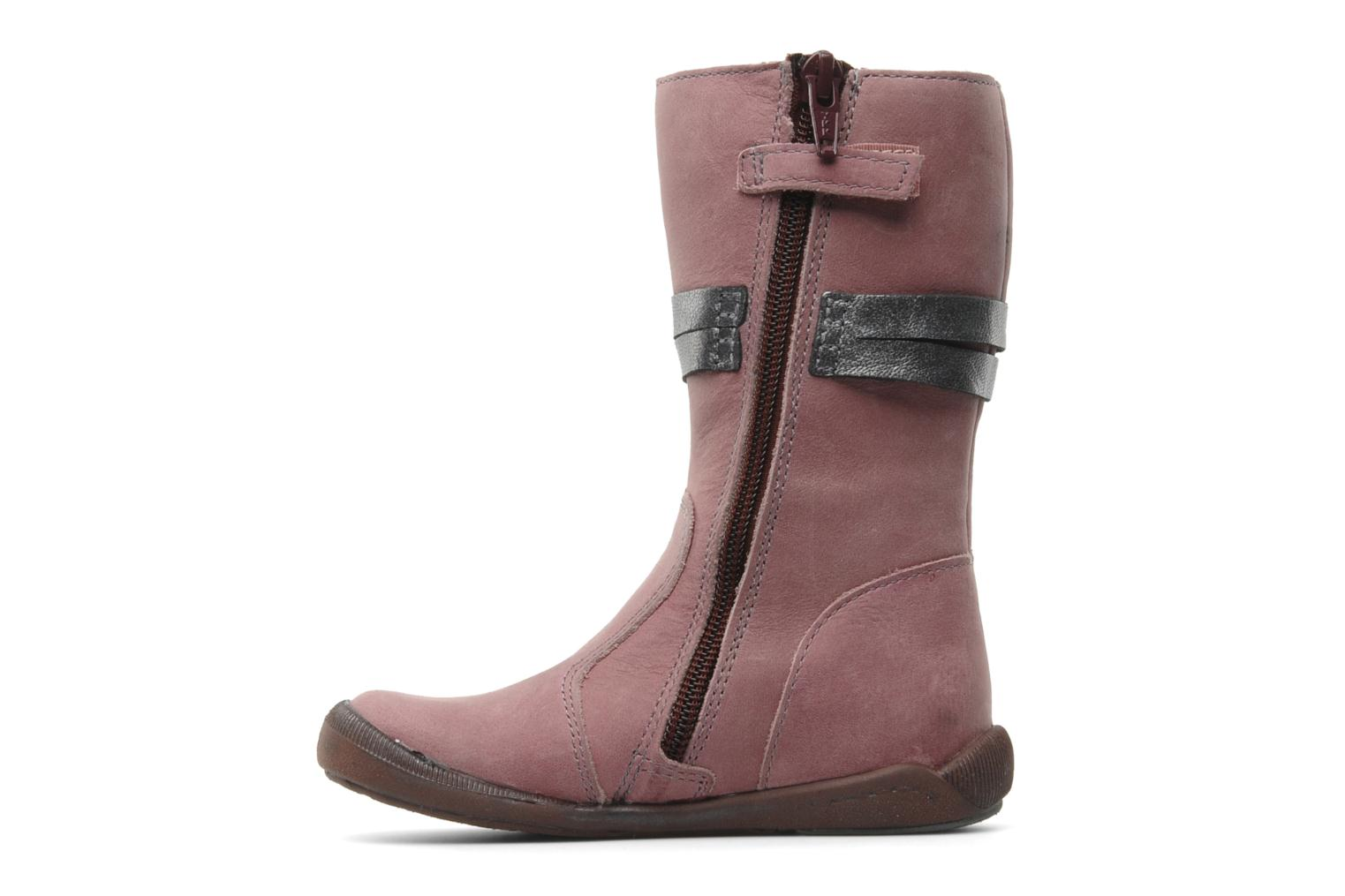 Boots & wellies Babybotte Arabel Pink front view