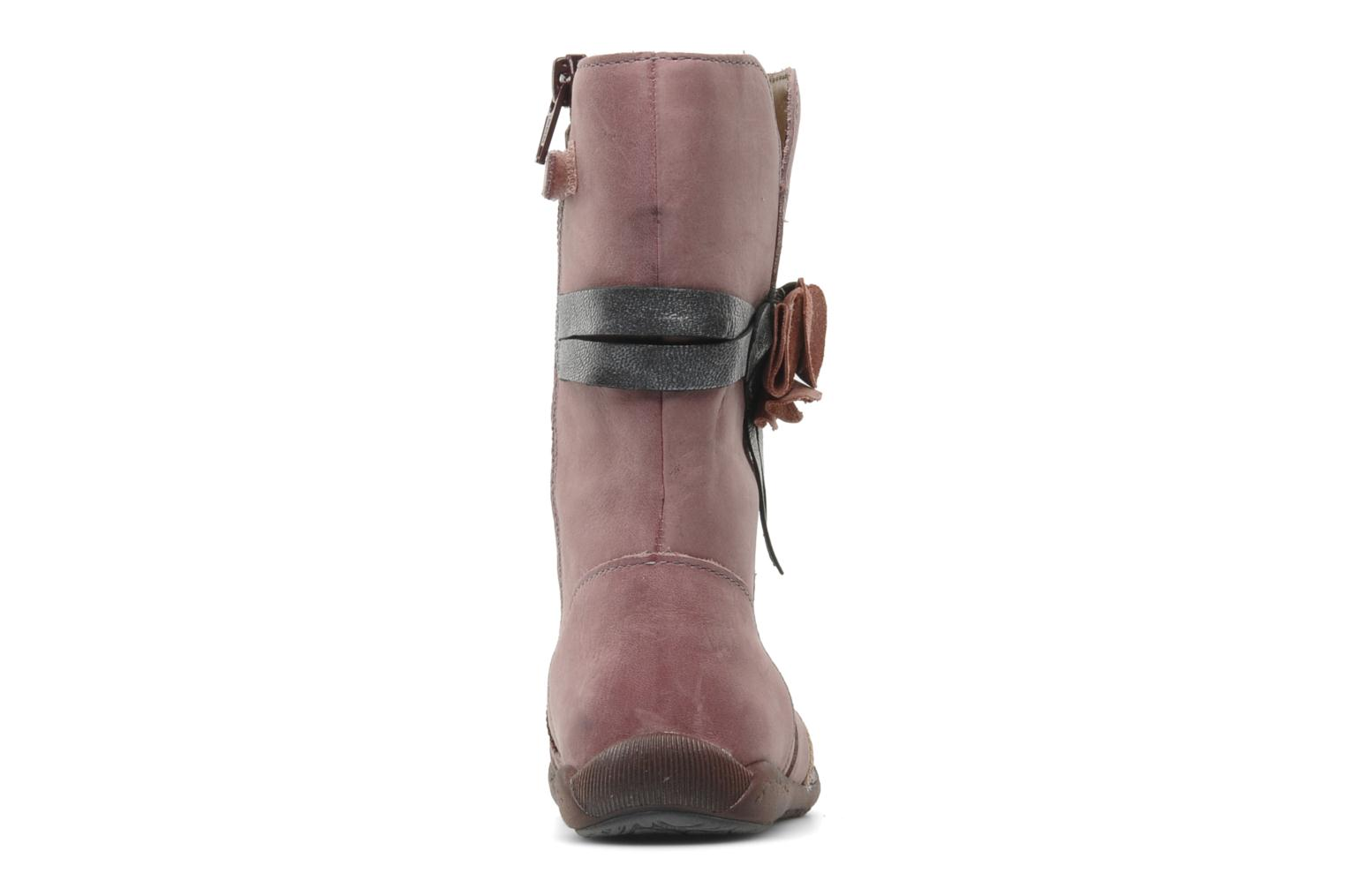 Boots & wellies Babybotte Arabel Pink view from the right