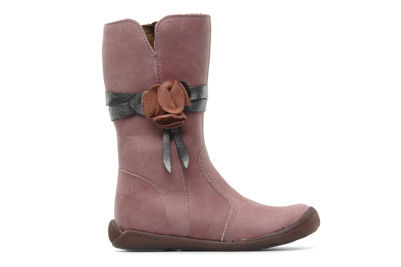 Boots & wellies Babybotte Arabel Pink back view