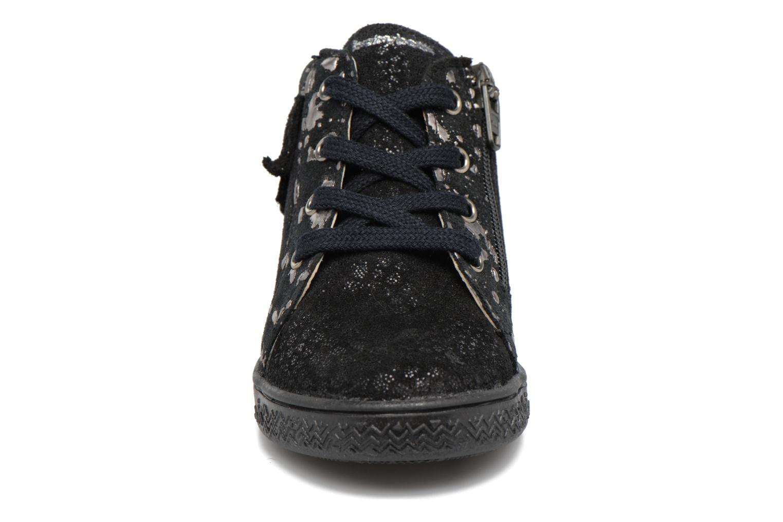 Baskets Babybotte Apache Noir vue portées chaussures