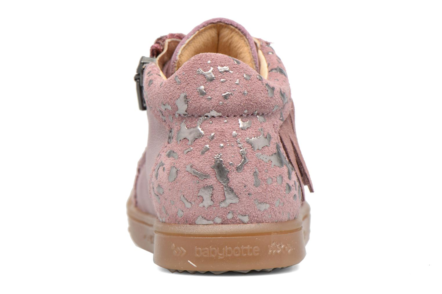 Trainers Babybotte Apache Pink view from the right