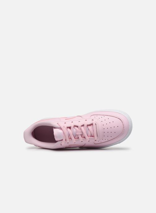 Trainers Nike Air Force 1 Gs Pink view from the left
