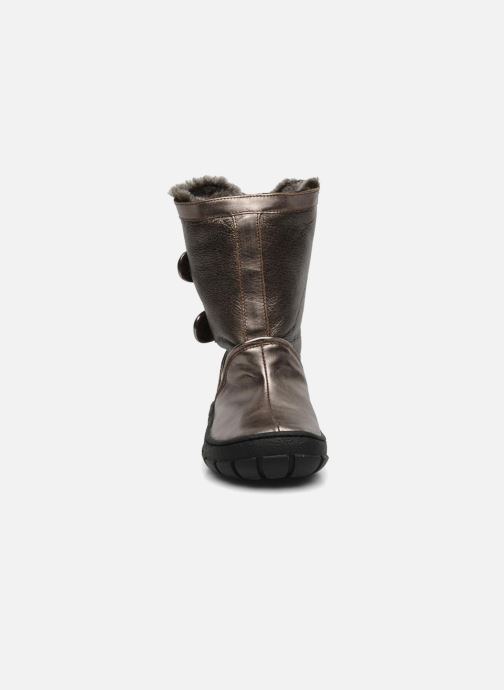 Boots & wellies Pom d Api Piwi chabraque bis Bronze and Gold model view