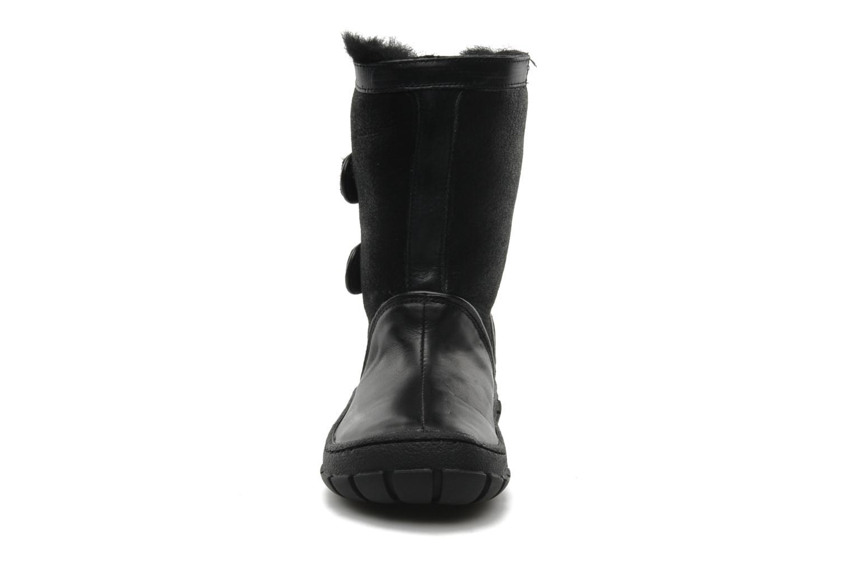 Bottes Pom d Api Piwi chabraque bis Noir vue portées chaussures
