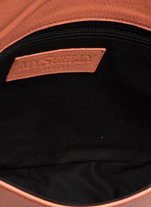 Handtassen MySuelly Gisèle Oranje achterkant