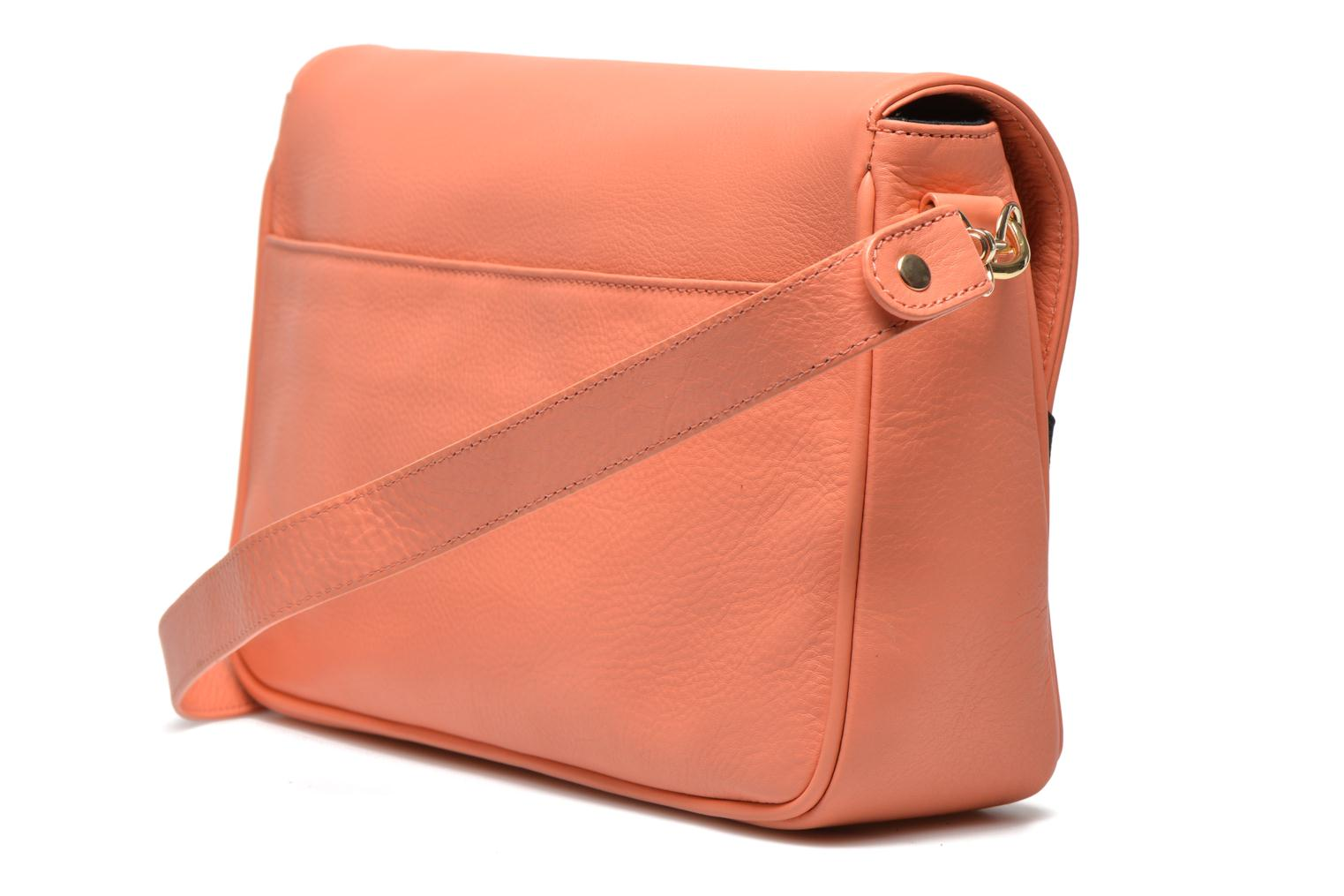 Handbags MySuelly Gisèle Orange view from the right