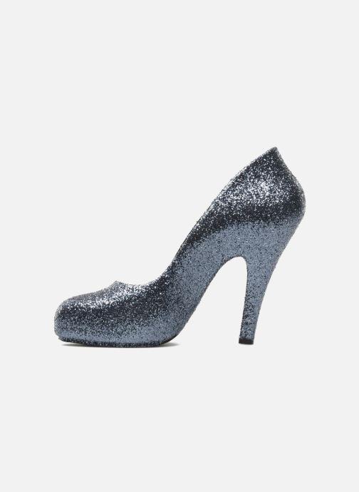 Zapatos de tacón Melissa Vivienne Westwood + Melissa Skyscraper III Plateado vista de frente