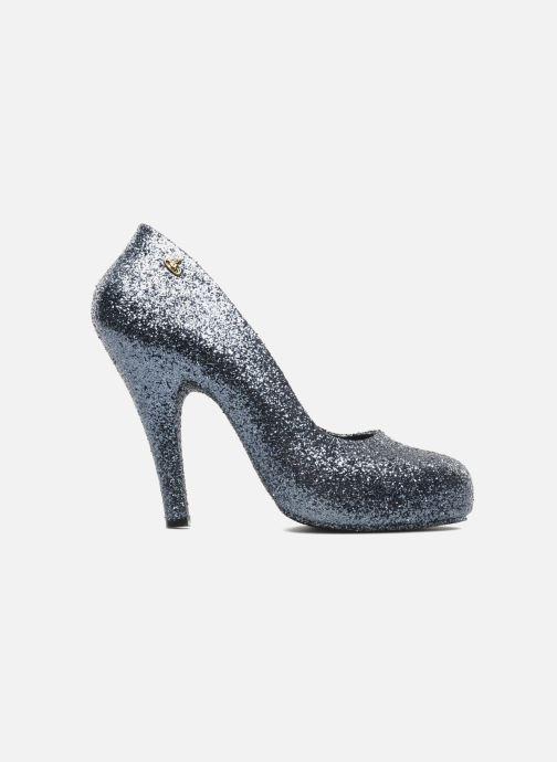Zapatos de tacón Melissa Vivienne Westwood + Melissa Skyscraper III Plateado vistra trasera