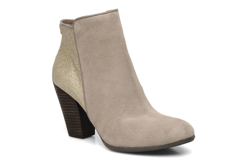 Bottines et boots Guess Cardio Beige vue détail/paire