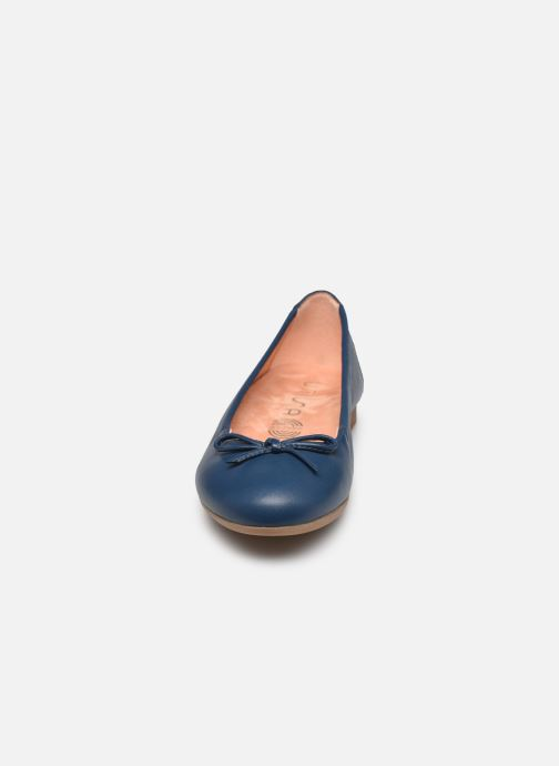 Ballerines Unisa Cresy Bleu vue portées chaussures