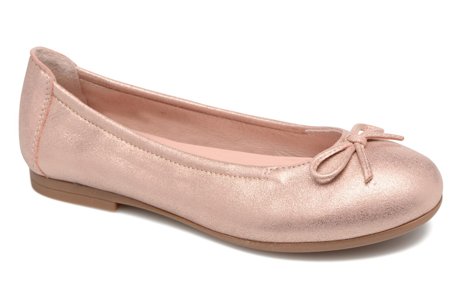 Ballet pumps Unisa Cresy Pink detailed view/ Pair view