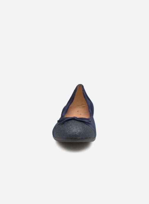 Ballerinas Unisa Cino blau schuhe getragen