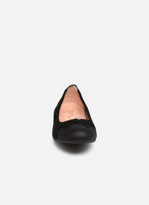 Ballerinas Unisa Cino schwarz schuhe getragen