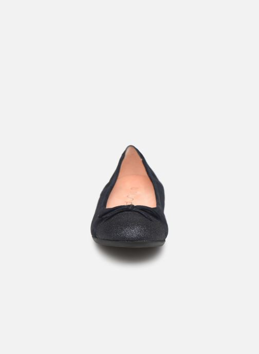 Ballerines Unisa Cino Bleu vue portées chaussures