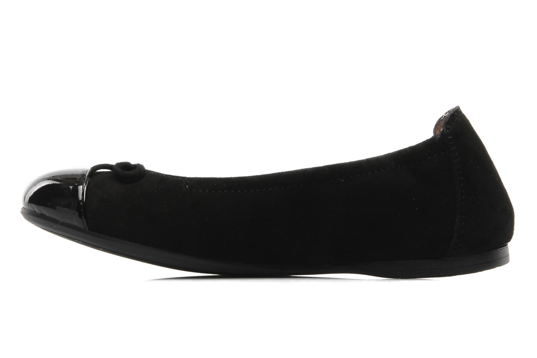 Ballet pumps Unisa Cino Black front view